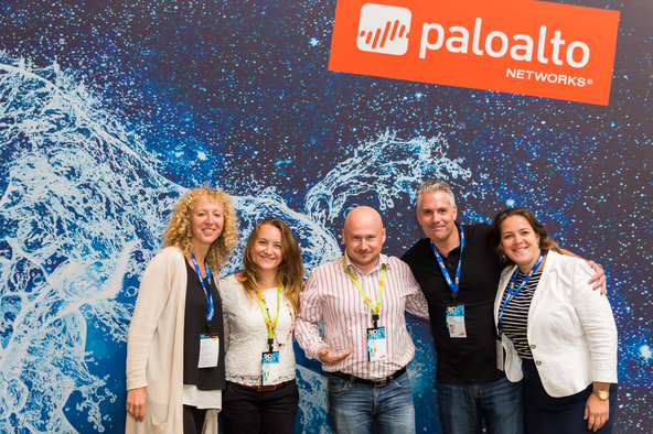 Palo Alto Networks Excellence in Training Award 2016