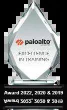 Palo Alto Training Excellence Award